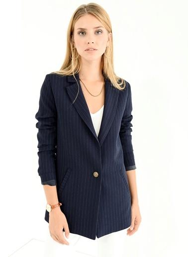 Çizgili Ceket People By Fabrika